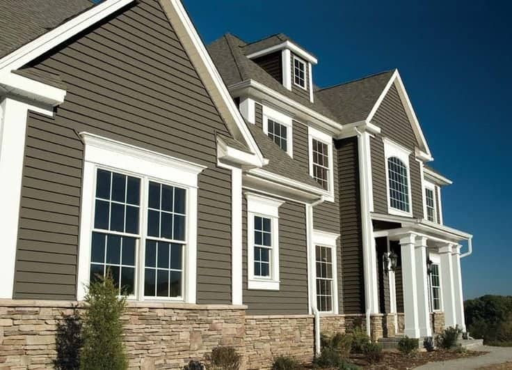 Types of siding conservation construction for Types of siding