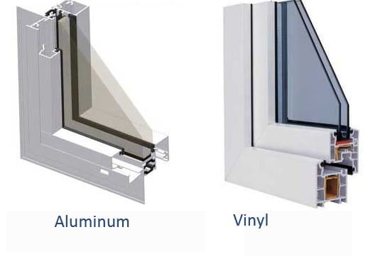 Aluminum Window Construction : Vinyl vs aluminum windows conservation construction