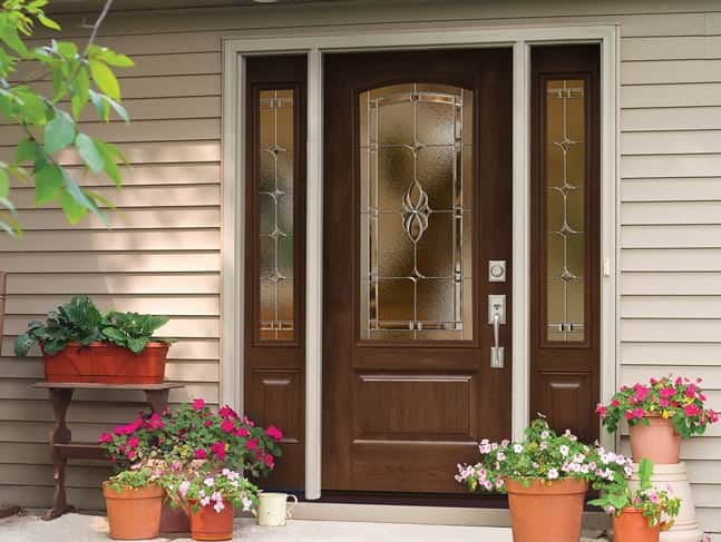 Quality Fiberglass Entry Door Conservation Construction