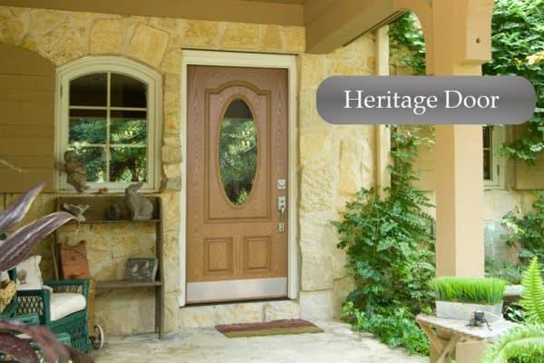 Heritage, Door replacement, entry door