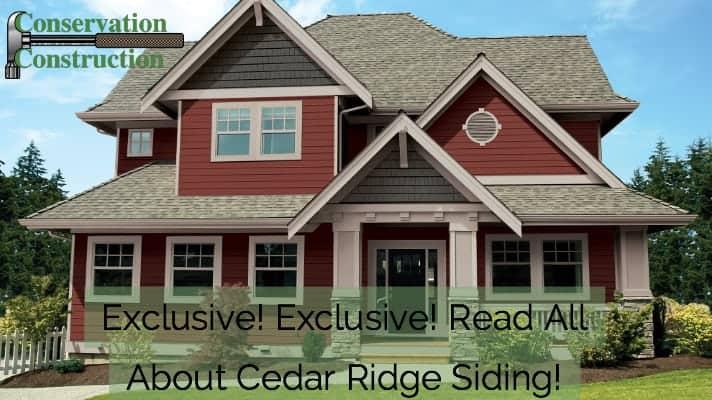 Cedar Ridge Siding, Siding Replacement, Siding Denver