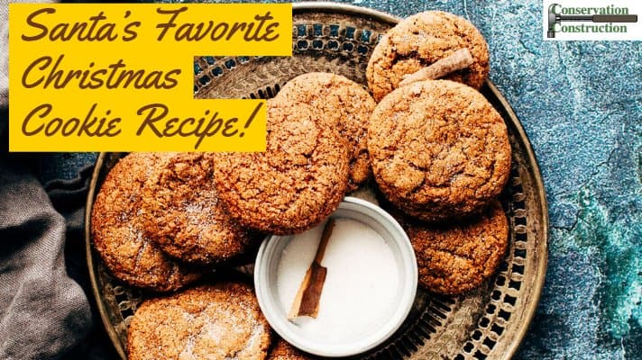 Favorite Christmas Cookies.Santa S Favorite Christmas Cookie Recipe Conservation