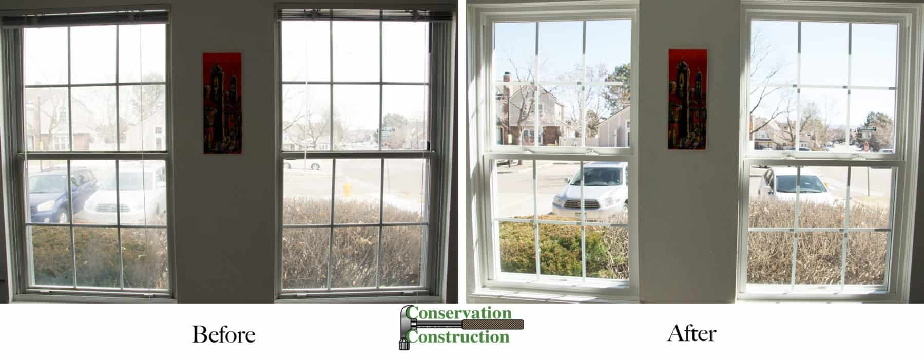 Conservation Construction, New Windows, Window Replacement