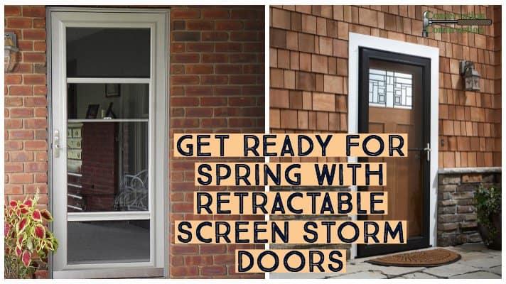 Conservation Construction, New Storm Door, Entry Door Replacement